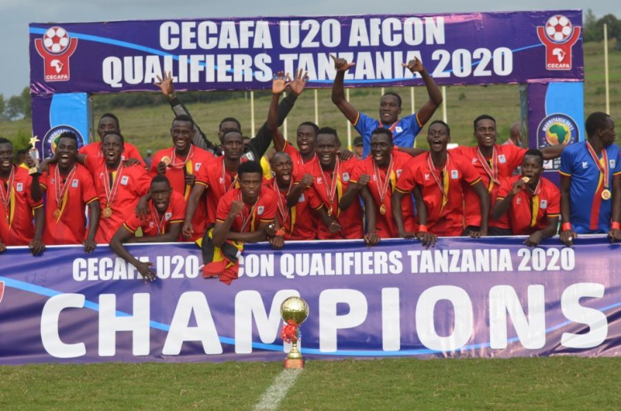 Uganda Hippos emerged champions of the CECAFA Regional Qualifiers in December 2020. PHOTO | Courtesy
